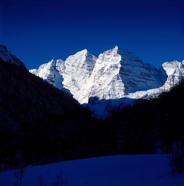 COL-4455 • Maroon Bells Colorado in Winter