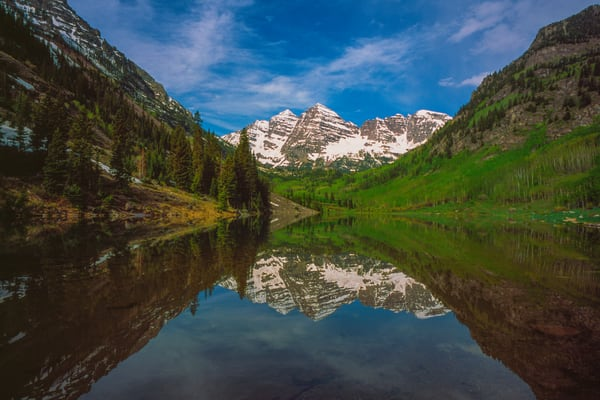 COL-4885 • Maroon Bells, Colorado in Spring