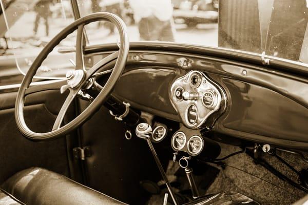 1929 Ford Classic Car Dashboard 3057.01