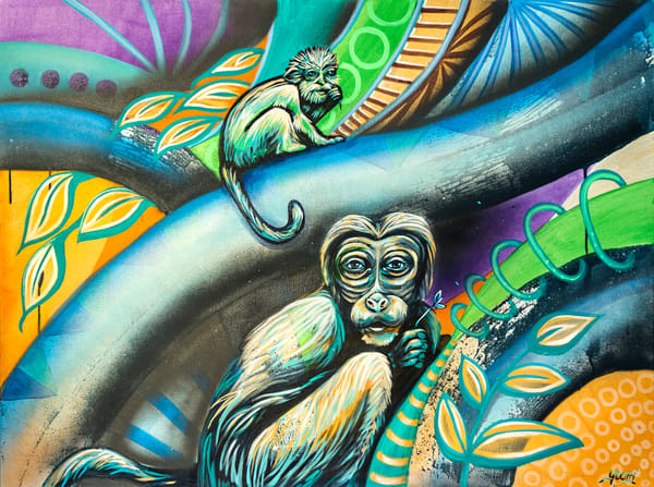 Monkeying Around: Nature Art