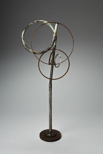 Salvaged metal  welded sculpture