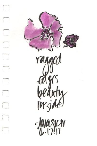 Ragged Edges Beauty Inside