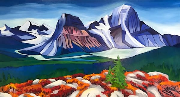Mighty Mount Robson | Original Oil Painting | Emma Barr Fine Art