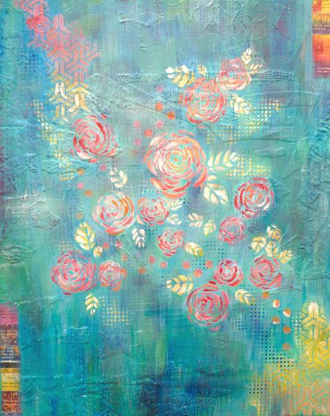 Flower Wallpaper Art | Art By Dana