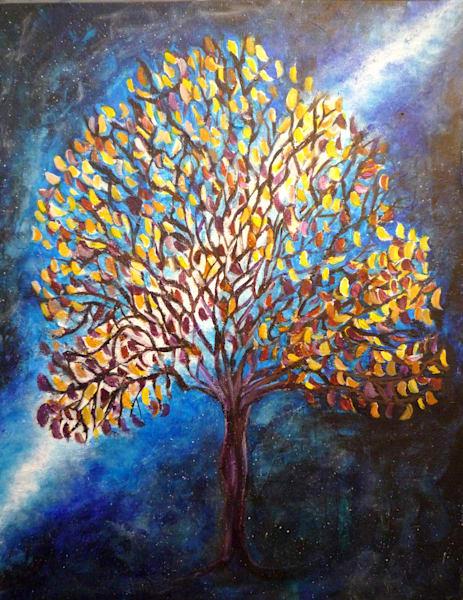 Space Tree Art | Art By Dana