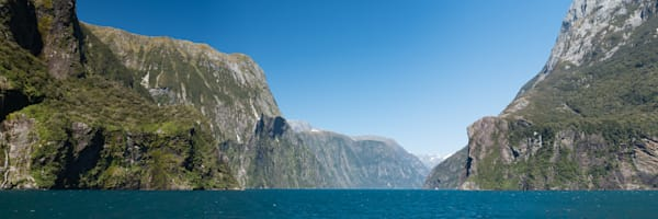 Milford Sound Panorama Photograph for Sale as Fine Art