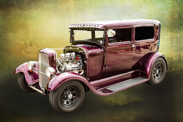 1929 Ford Model A Street Rod Art Photographs or Canvas Prints