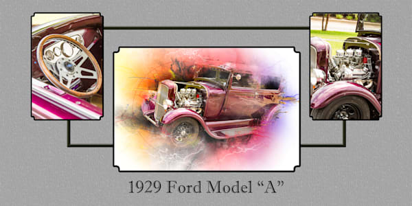 1929 Ford Model A Wall Art Collage 5511.02