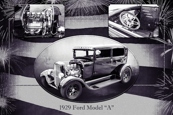Collage 1929 Ford Model A 5511.50