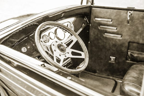 Inside 1929 Ford Model A 5511.60