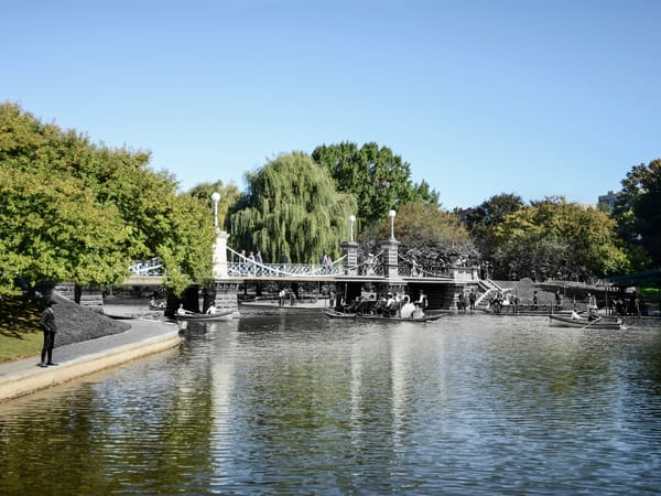 Lagoon Bridge, Boston Public Garden