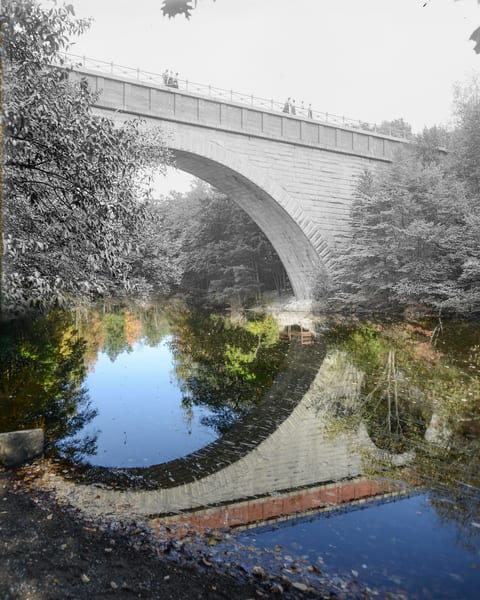 Echo Bridge, Newton