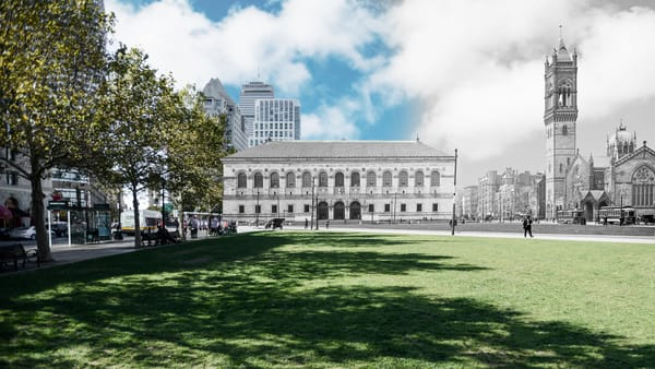 Boston Public Library, Copley Square