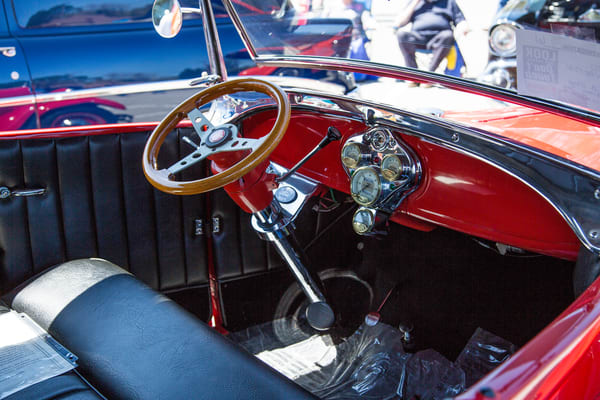 1929 Ford Phaeton Classic Car Interior 3509.02