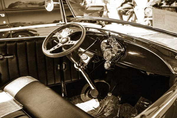 Interior Classic Car 1929 Ford Phaeton 3509.01