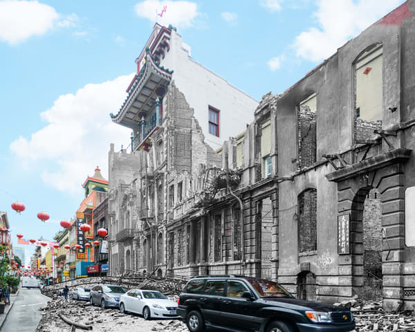 Grant Avenue, Chinatown Art | Mark Hersch Photography