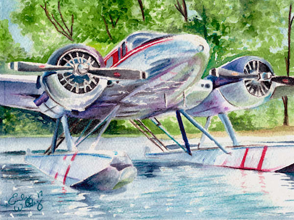 Beech 18 fine art print by Emily Willey.