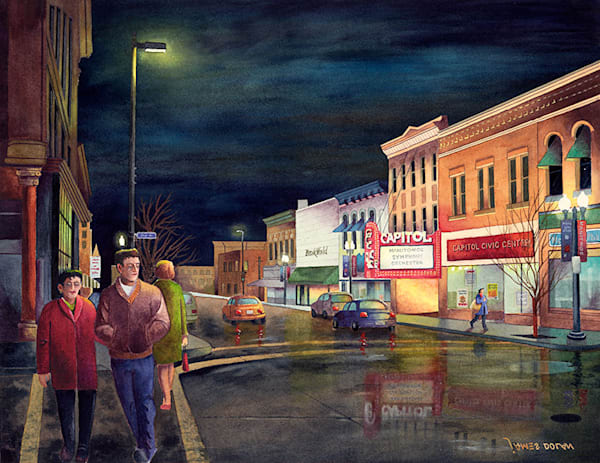 8th Street fine art print by Jim Dolan.