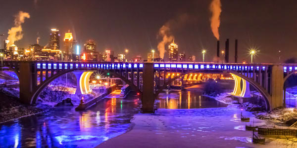 Viking Purple 2 - Minneapolis Art | William Drew