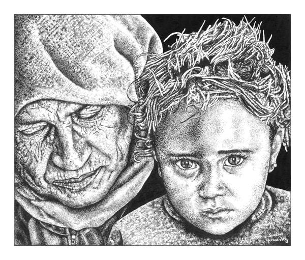 Sorrow Art | Yvonne Petty Artist