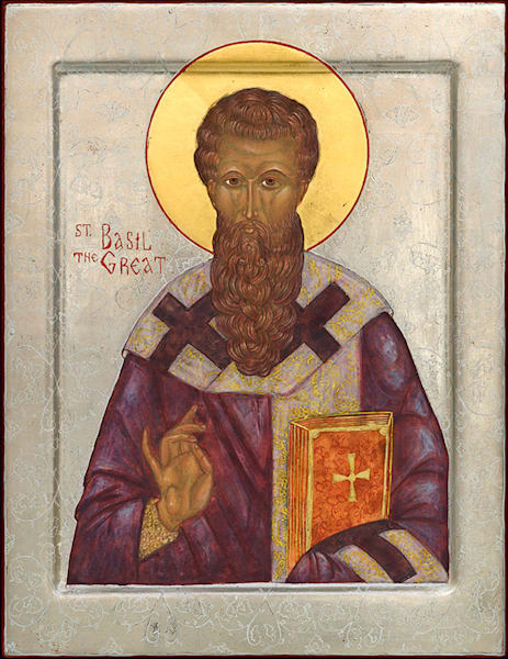 Saint Basil the Great fine art print by Katherine de Shazer.