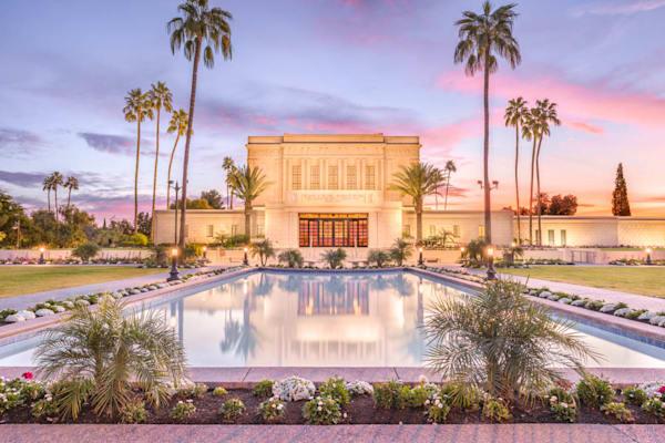 Mesa Arizona Temple - Reflection Pool