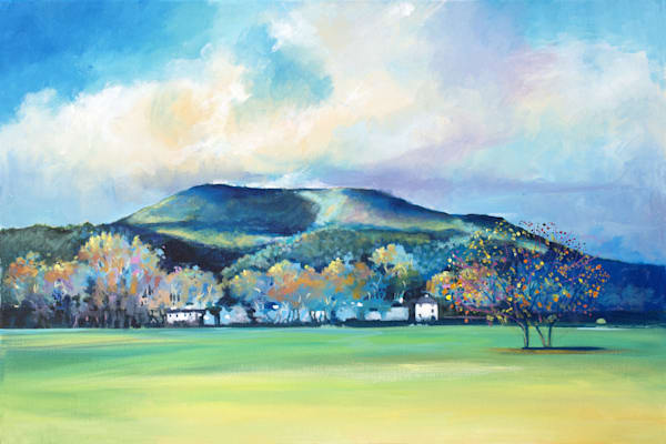 The Blorenge Abergavenny Art print