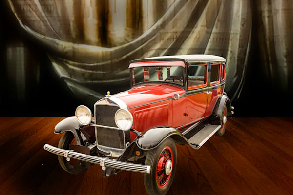 1929 Willys Knight Classic Car In Showroom 4555.02
