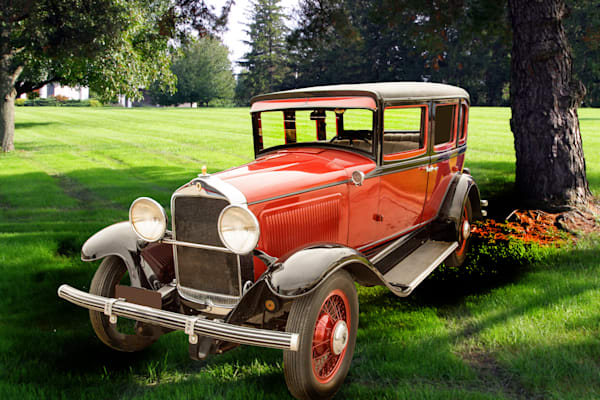 1929 Willys Knight Classic Car Art Photographs