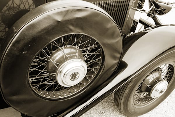 Spare Tire 1929 Willys Knight Classic Car 4543.01