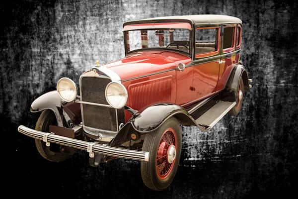 Wall Art 1929 Willys Knight Classic Car 4556.02