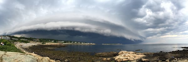 Dome Cloud, Storm, Rockport, Whale Cove, Panorama,
