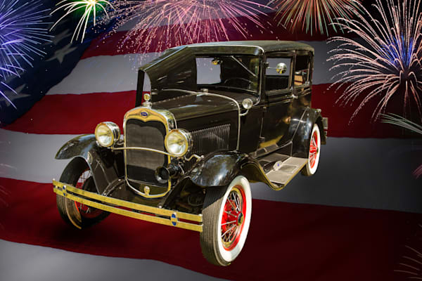 1930 Ford Model A Art Photographs for Canvas or Metal Prints