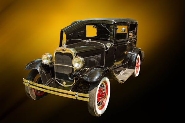 1930 Ford Model A Sedan Classic Car Art Photographs
