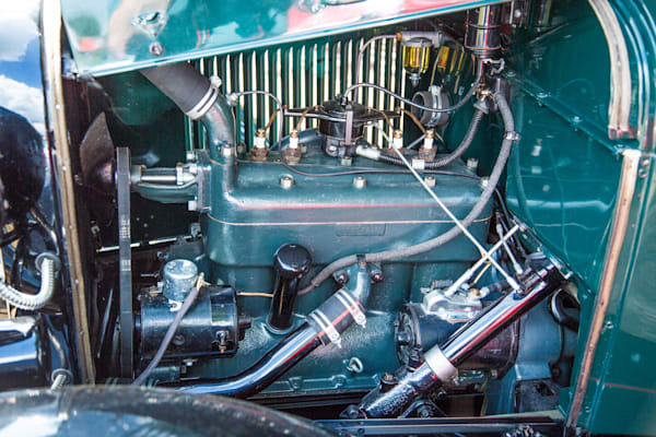 1930 Ford Stakebed Truck Engine 5512.07