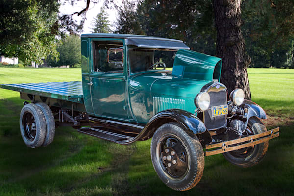 1930 Ford Stakebed Truck Classic Car Art Photograph Prints