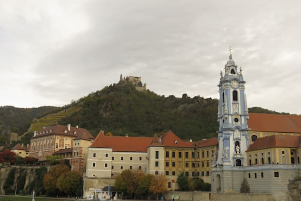 Church and vineyard along Danube River--Krems, Austria  IMG 1247