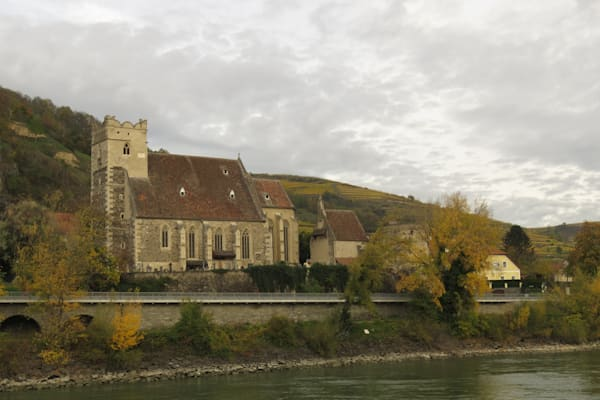 Church along the Danube River at Krems, Austria  IMG 1204