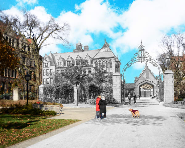 University Of Chicago Hull Court Photography Art by markhersch