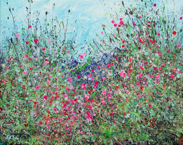 Rising, An Original Wildflowers Painting