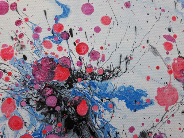 Abstract Plum Blossoms Painting, HanMei #2