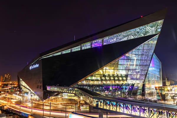 US Bank Stadium 1 - Minneapolis Wall Art | William Drew