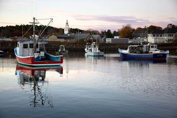 Red Lobster Boat, Manchester Harbor,