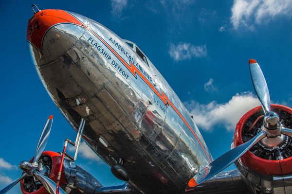 Photo of American Airlines Flagship Detroit DC-3 Douglas Aircraft Company