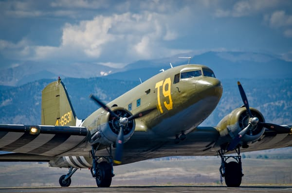 Photo of Douglas Aircraft DC-3 A9 Vintage WWII Aircraft