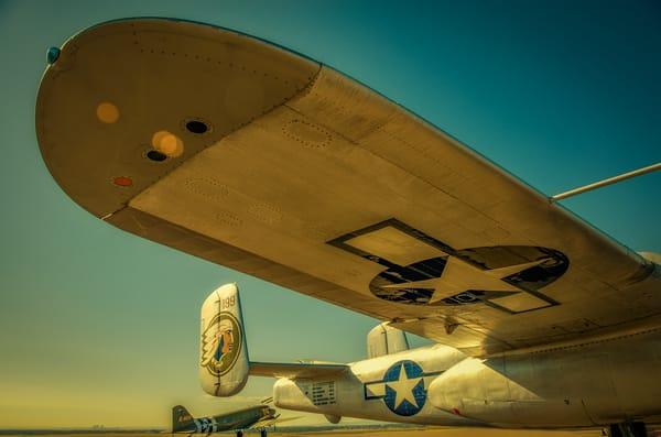 Photo of Vintage WWII B-25 Mitchell Twin-engine Medium Range Bomber