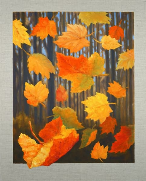 Falling Leaves Art | Kashino Design