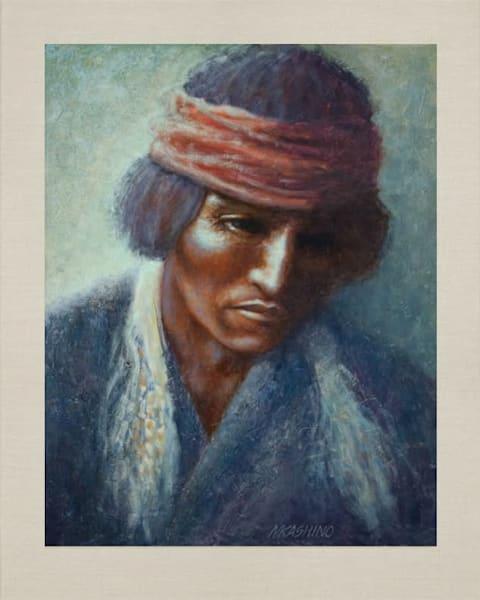 Navajo Medicine Man, Native Americans, American Indians, Portraits, Oil Paintings, Mark Kashino