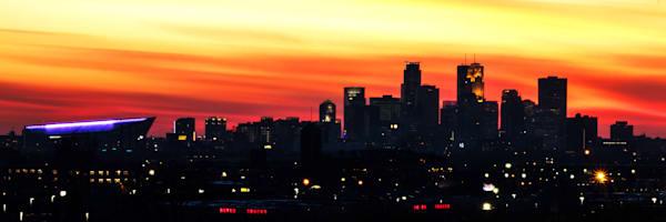 Minneapolis Sunset - MPLS Skyline Art | William Drew Photography