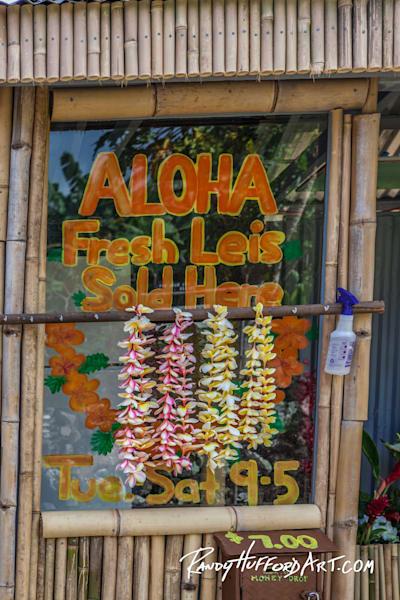 Aloha Lei Stand